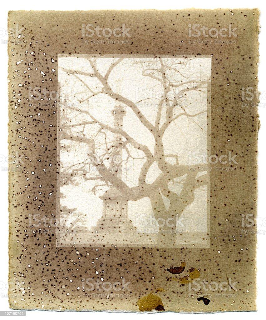 Cemetery royalty-free stock vector art