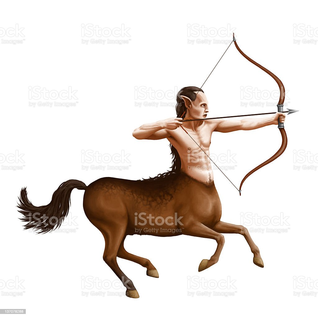 Centaur royalty-free stock vector art