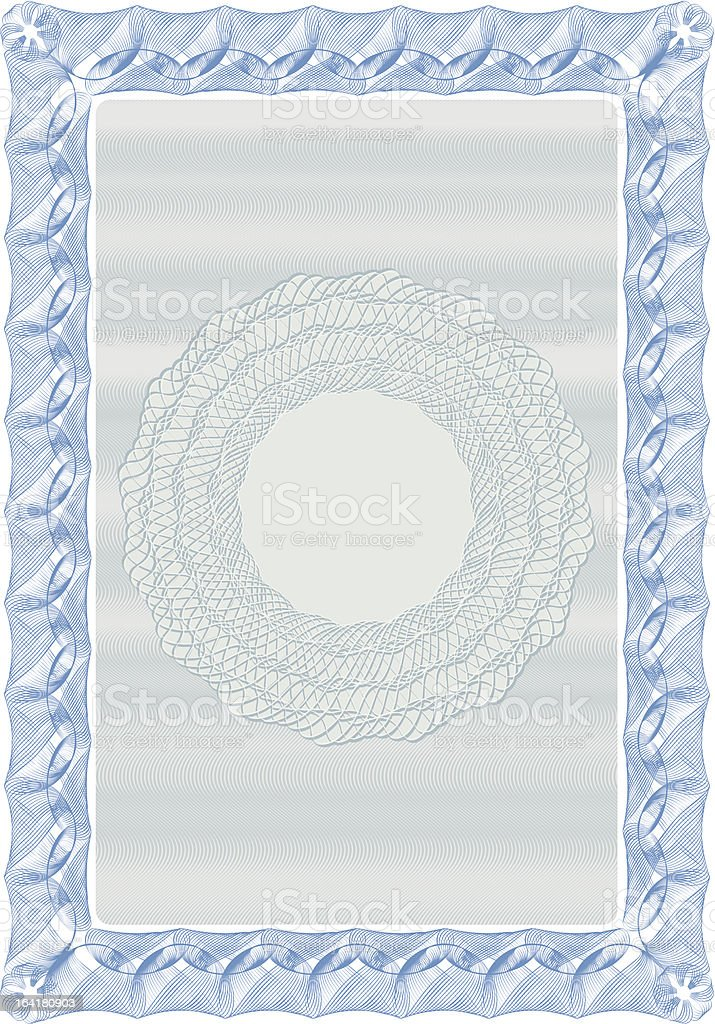 Certificate background 01 royalty-free stock vector art