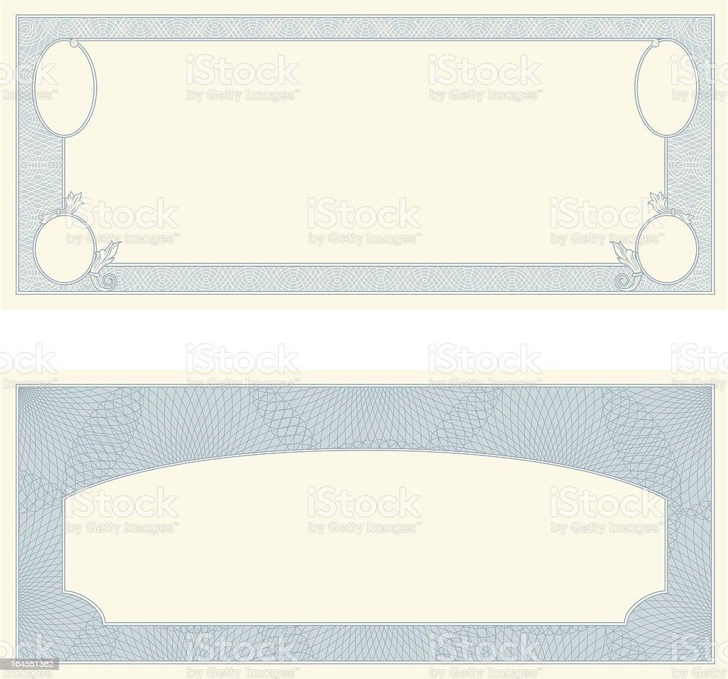 Certificate Frames royalty-free stock vector art