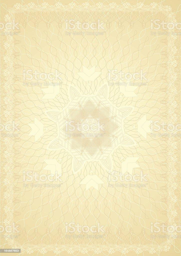 certificate2 royalty-free stock vector art