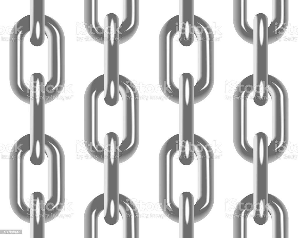 Chain seamless background royalty-free stock vector art