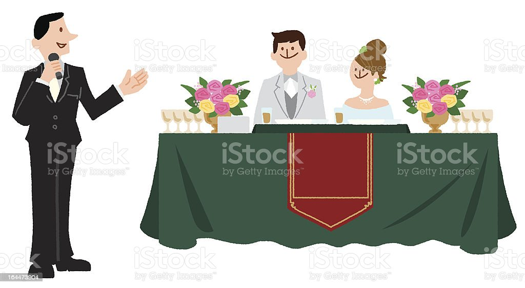 Chairman royalty-free stock vector art