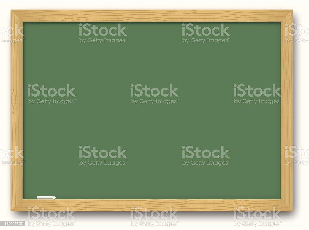 Chalk Board royalty-free stock vector art