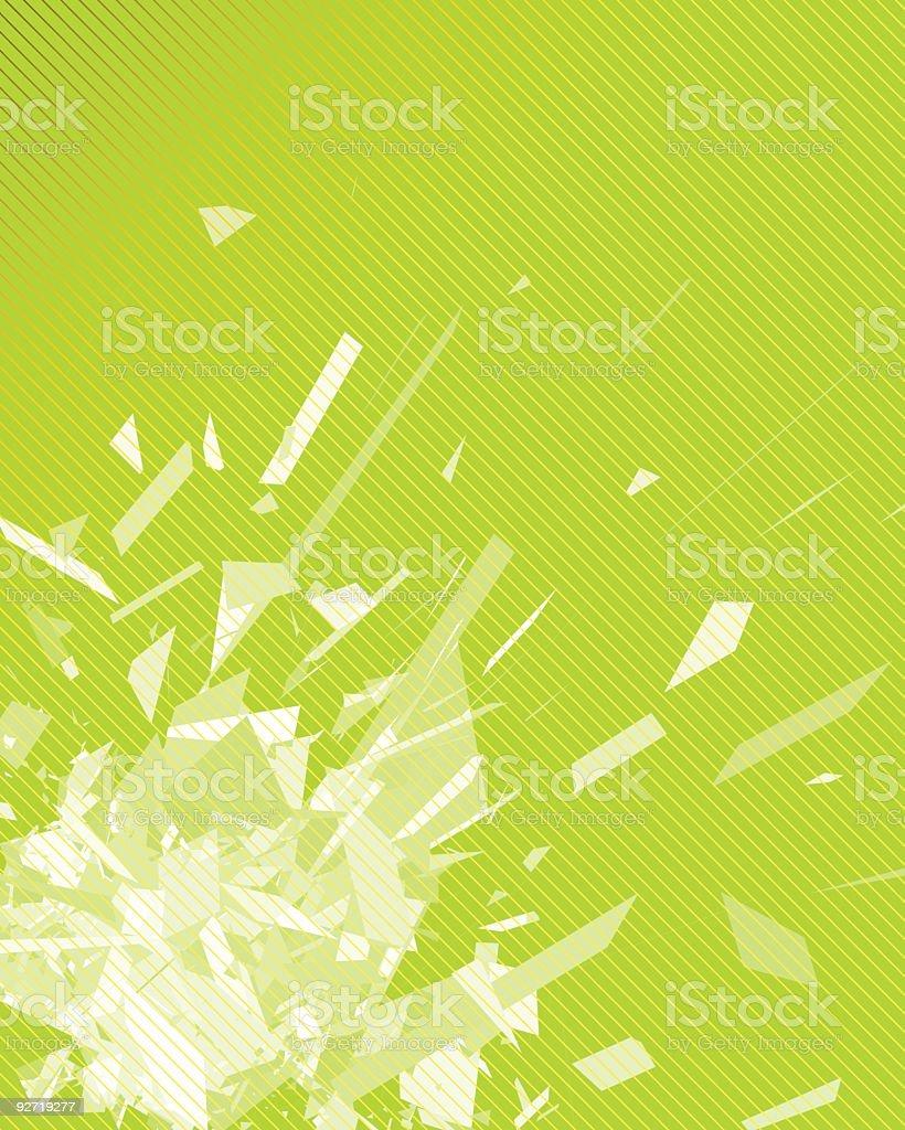 Chaos royalty-free stock vector art