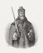 Charlemagne - the first Holy Roman Emperor, published in 1868