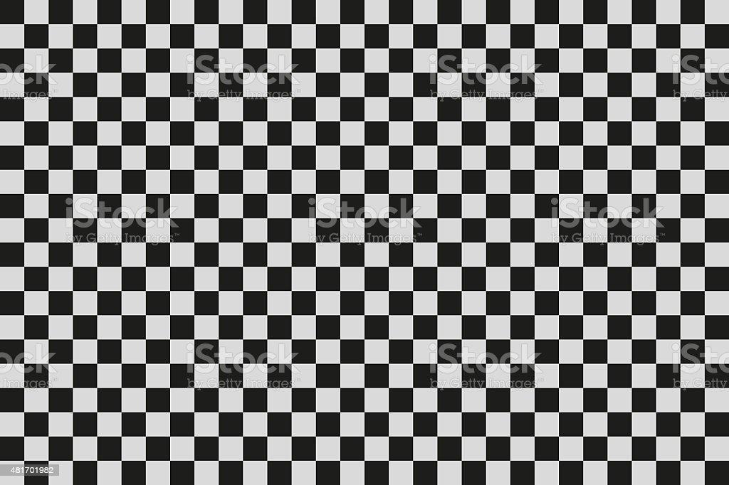 Checkered background vector art illustration