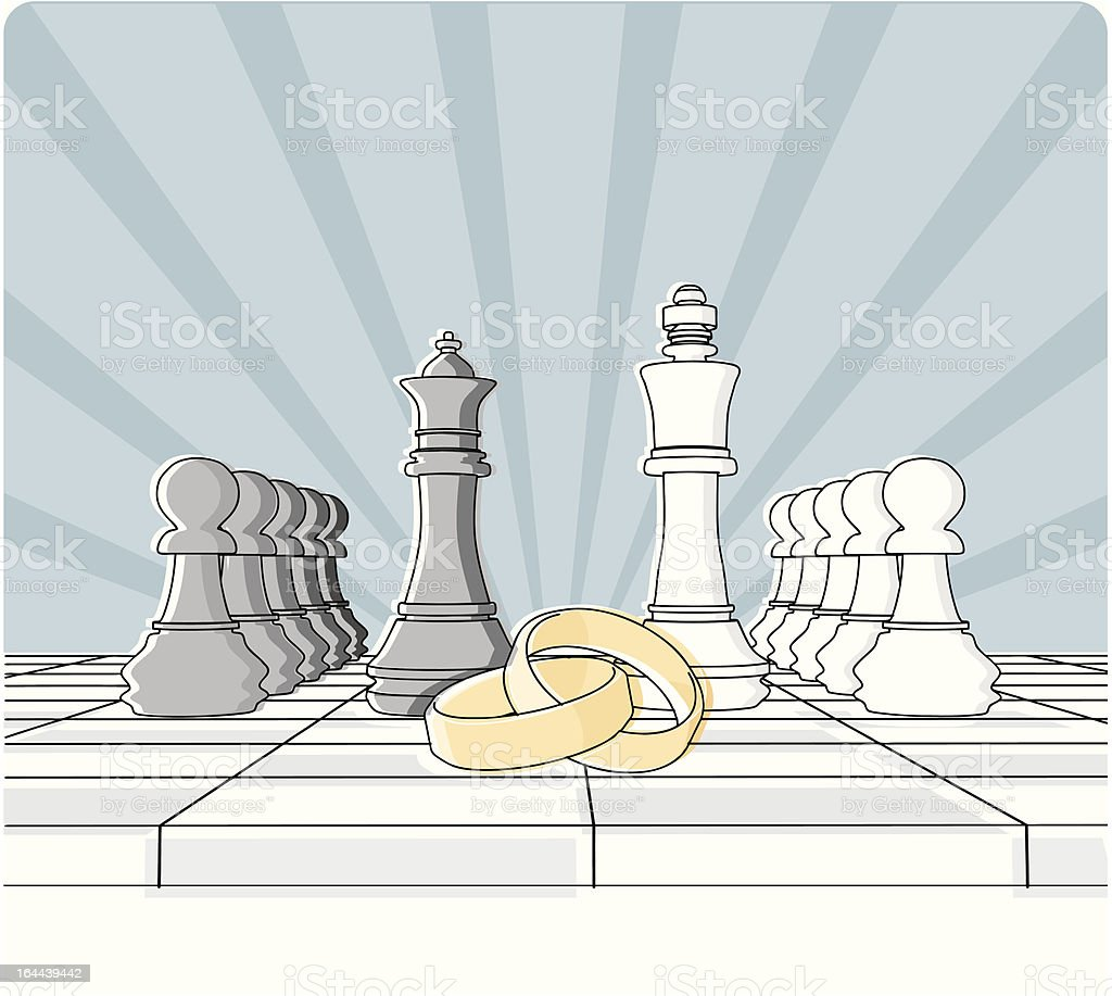 checkmate royalty-free stock vector art