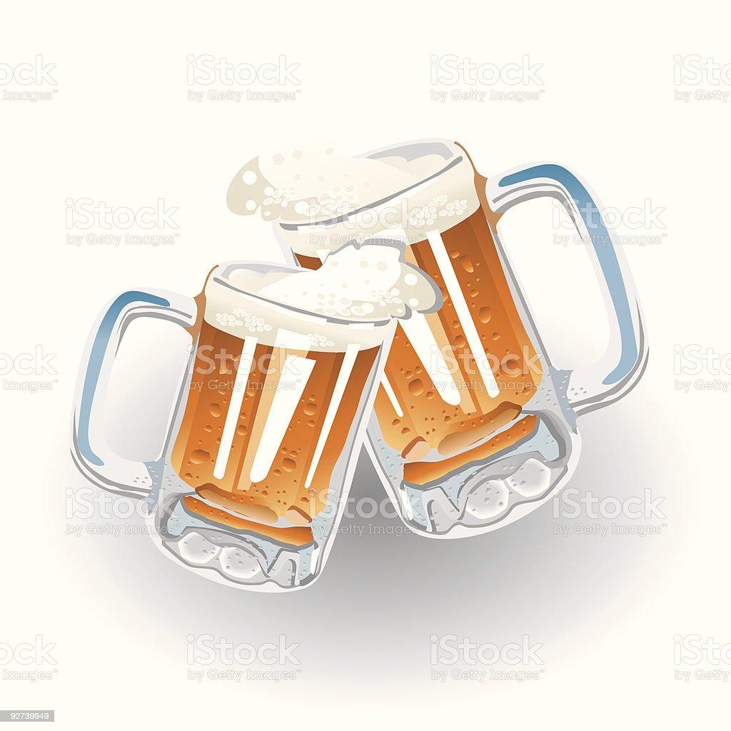 Cheers! (vector + XXL jpg in ZIP folder) royalty-free stock vector art