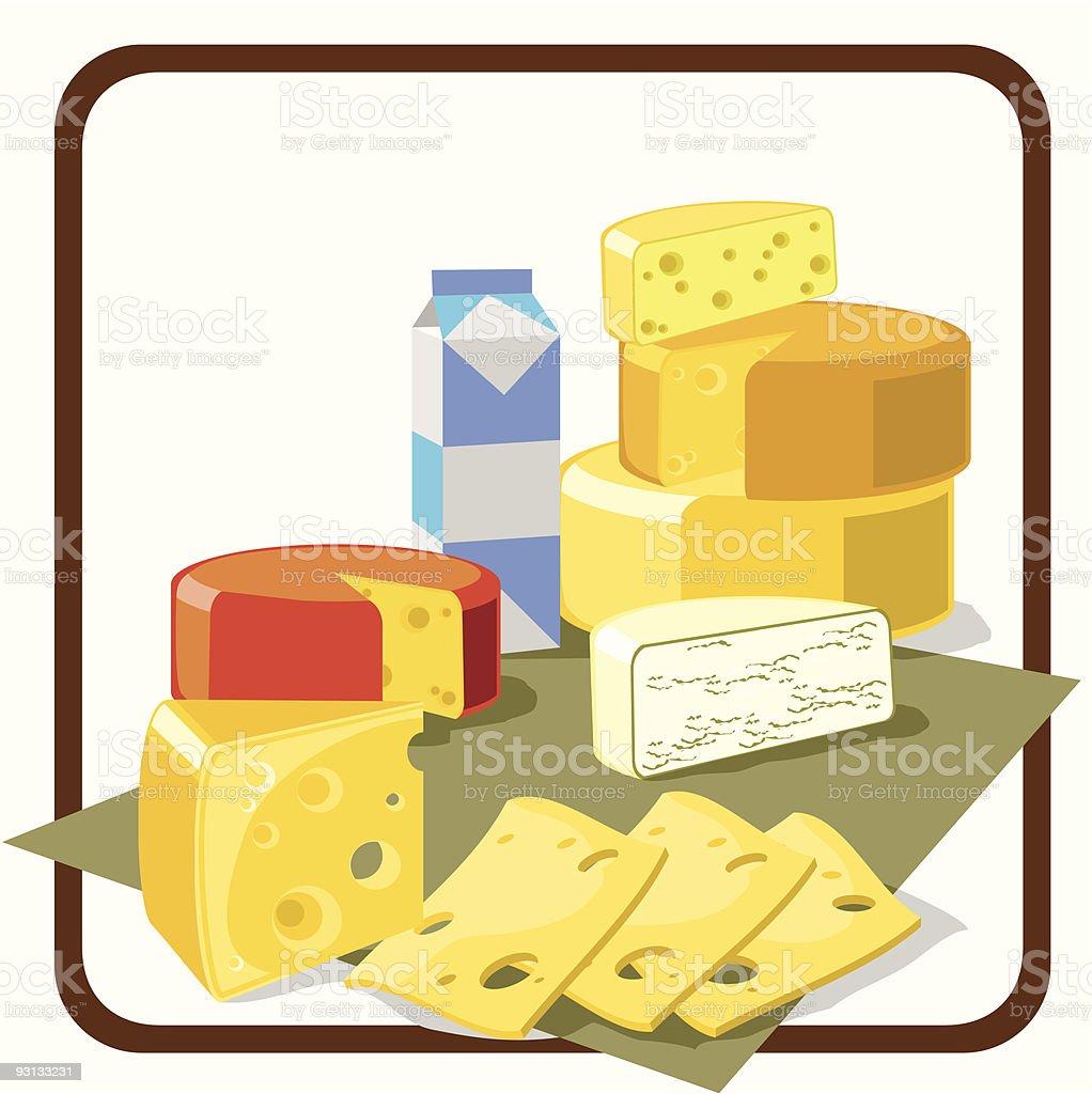 cheese royalty-free stock vector art