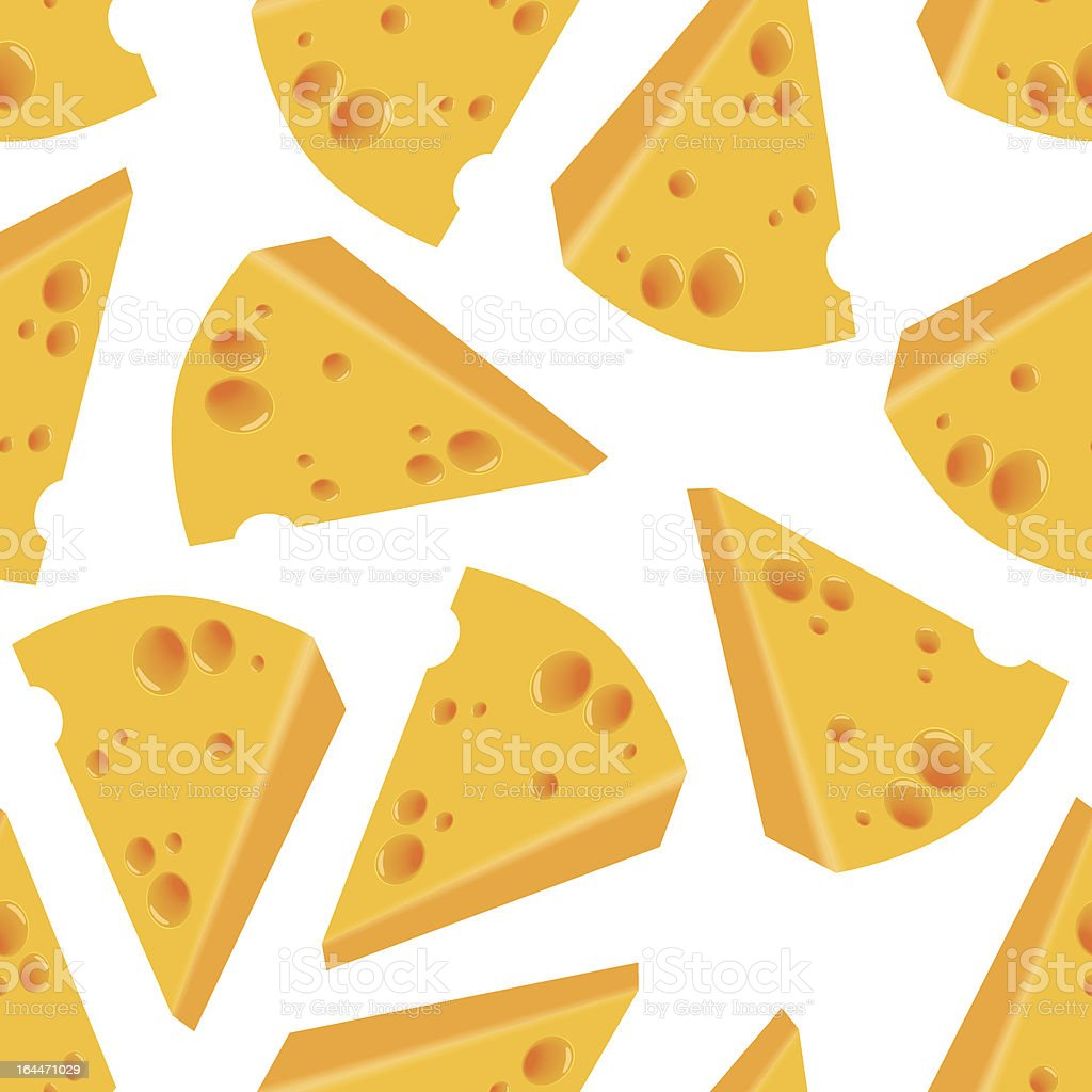 cheese seamless pattern royalty-free stock vector art
