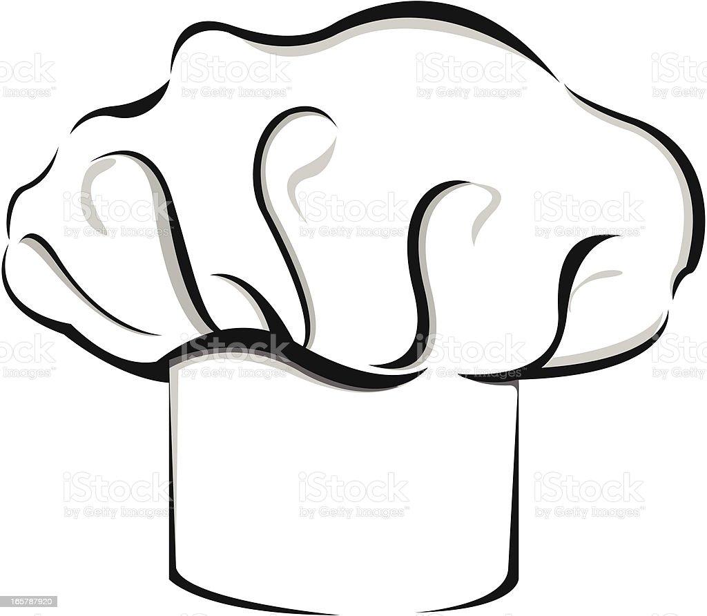 Chef Hat vector art illustration