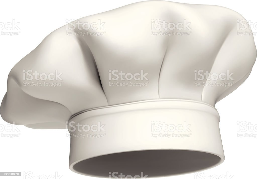 chef hat vector icon isolated vector art