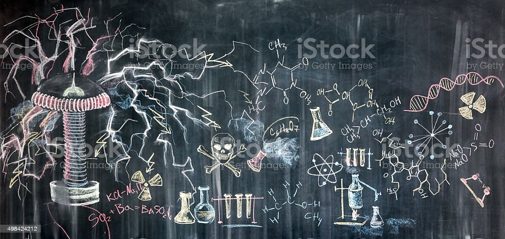 Chemical Picture vector art illustration