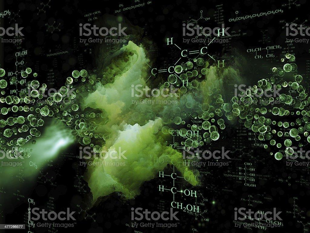 Chemistry Background vector art illustration