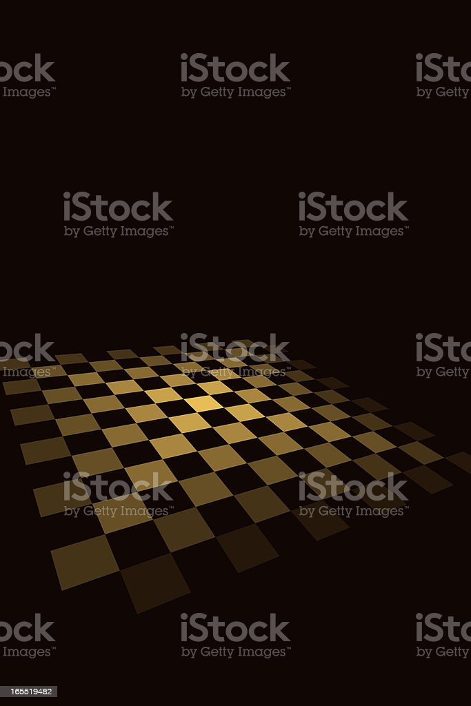 Chequered Board royalty-free stock vector art