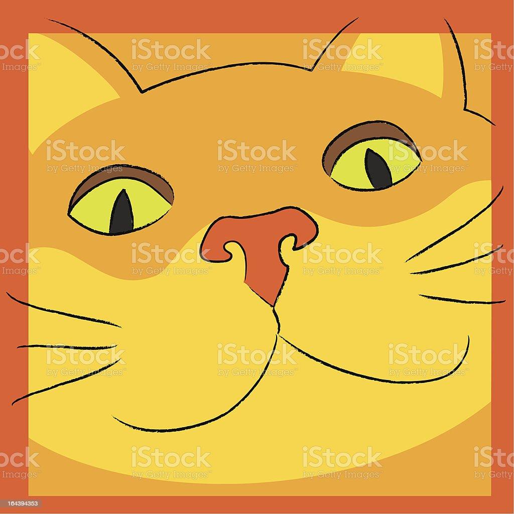 Cheshire Cat royalty-free stock vector art