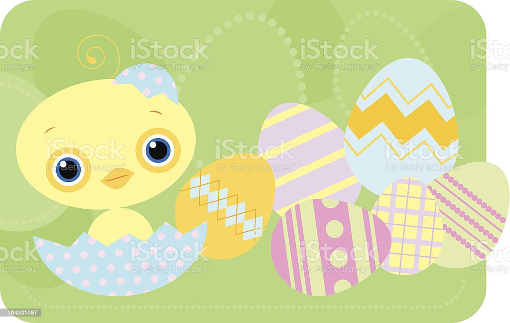 Chicky royalty-free stock vector art