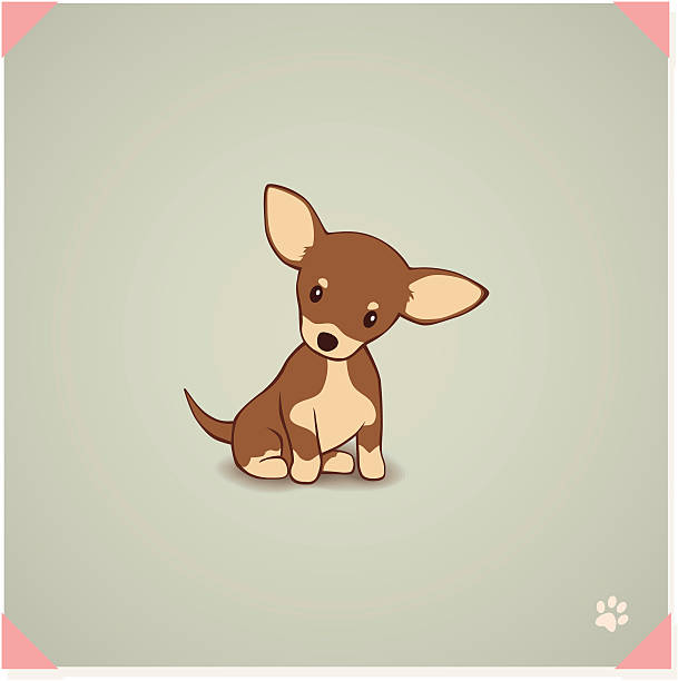 chihuahua dog clipart - photo #19