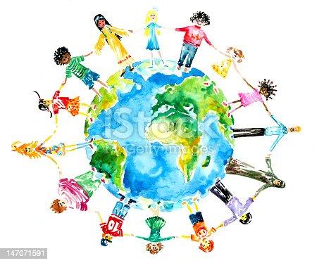 Детские рисунки у нас одна планета