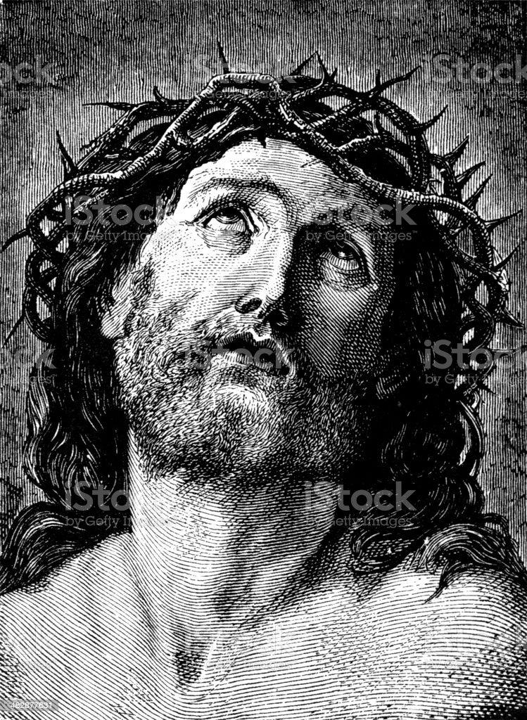 Christ vector art illustration