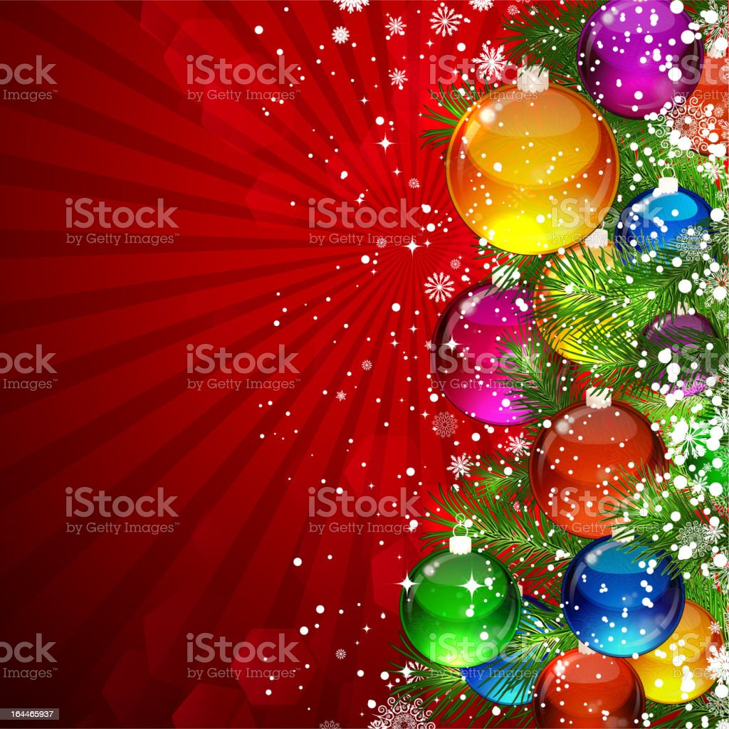 Christmas background. royalty-free stock vector art