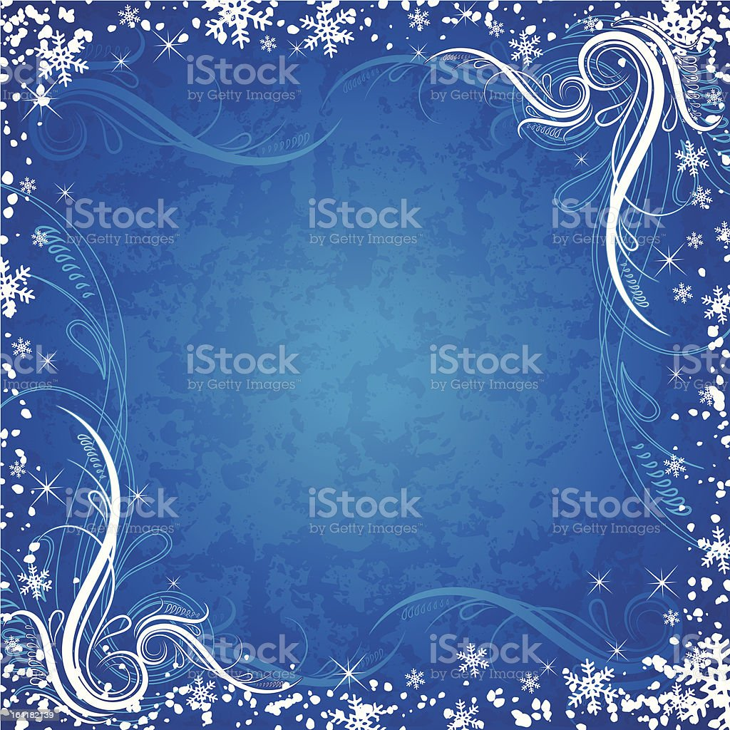 christmas background, vector royalty-free stock vector art