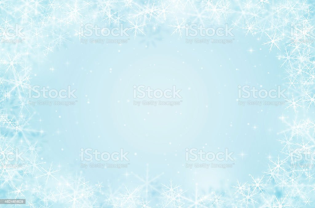 christmas background with snowflake and glitter. royalty-free stock vector art