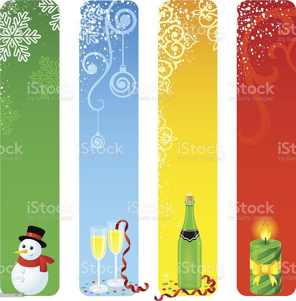 Christmas Banners royalty-free stock vector art