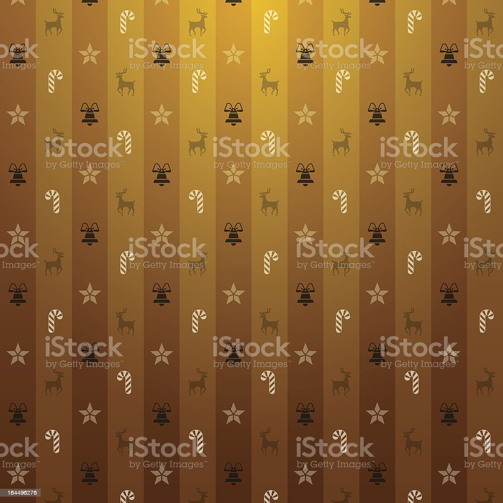 Christmas brown background royalty-free stock vector art