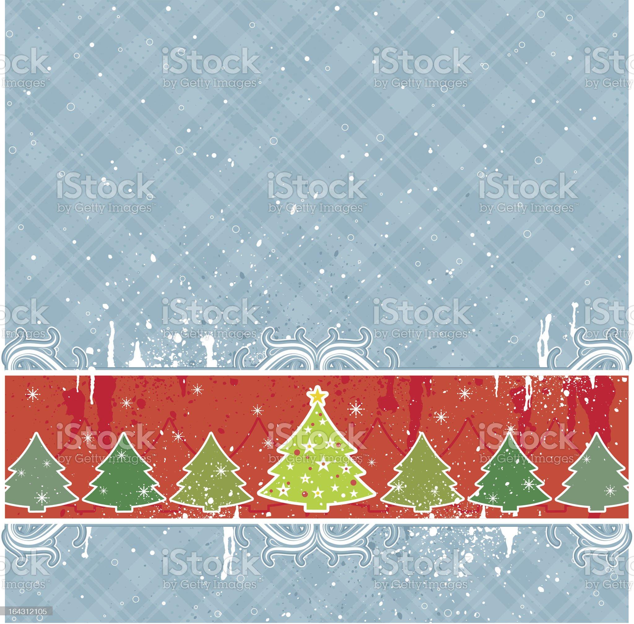 christmas card royalty-free stock vector art