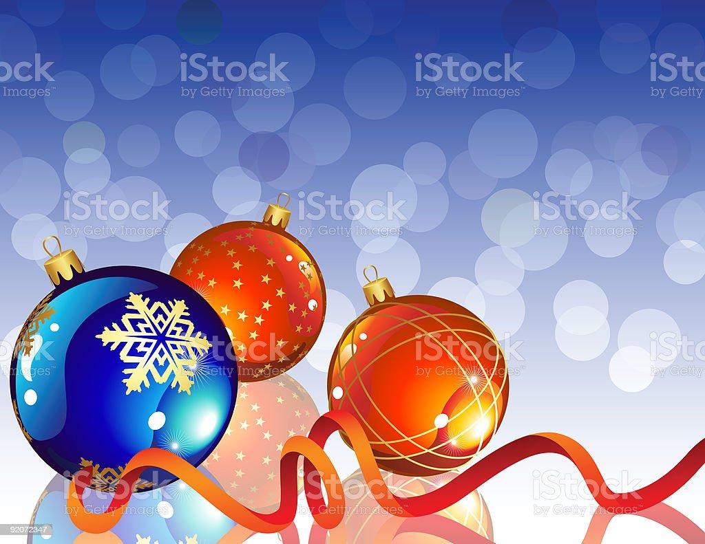 christmas decor royalty-free stock vector art