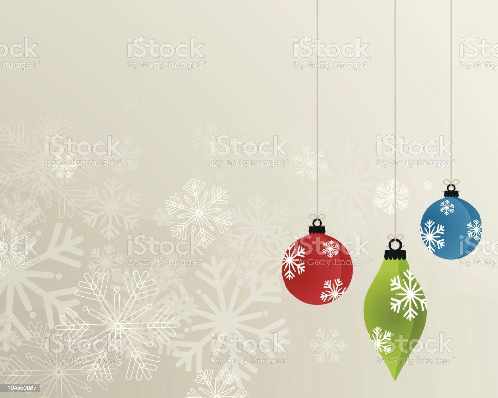 Christmas Decorations royalty-free stock vector art