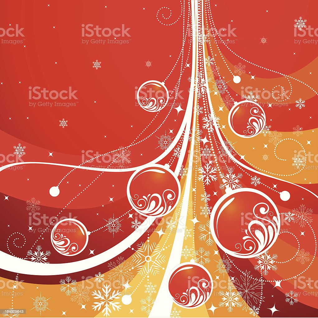 christmas fir royalty-free stock vector art