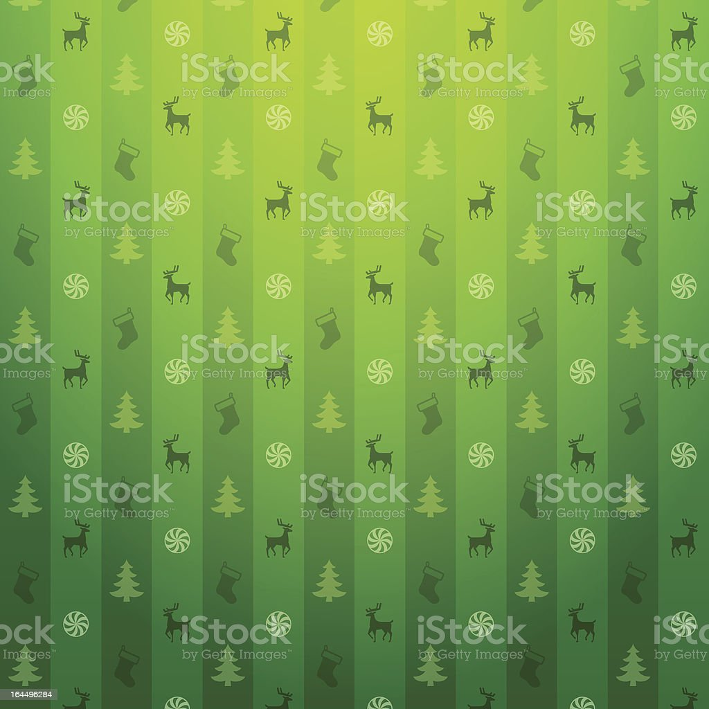 Christmas green background royalty-free stock vector art