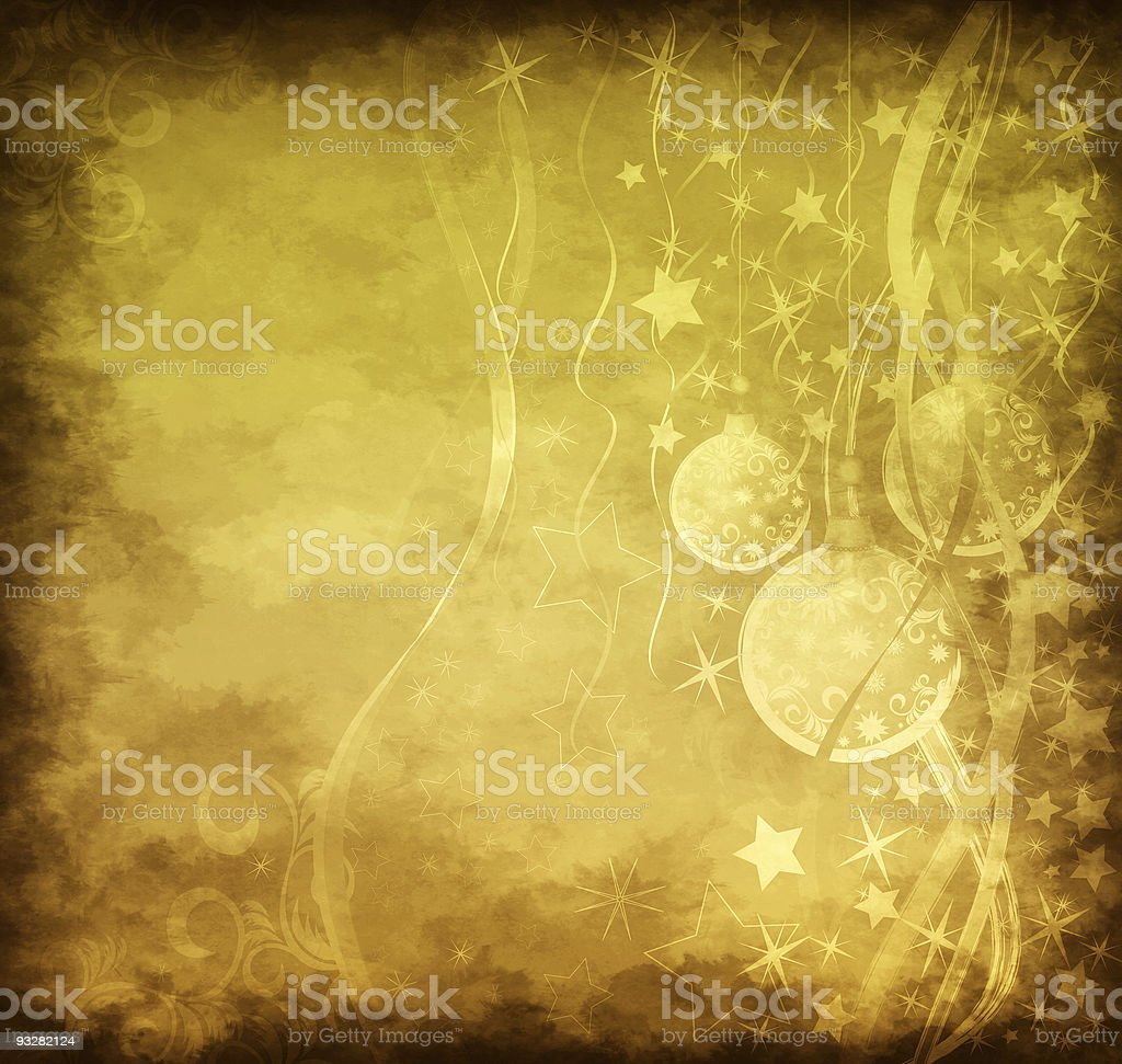 Christmas grunge background royalty-free stock vector art
