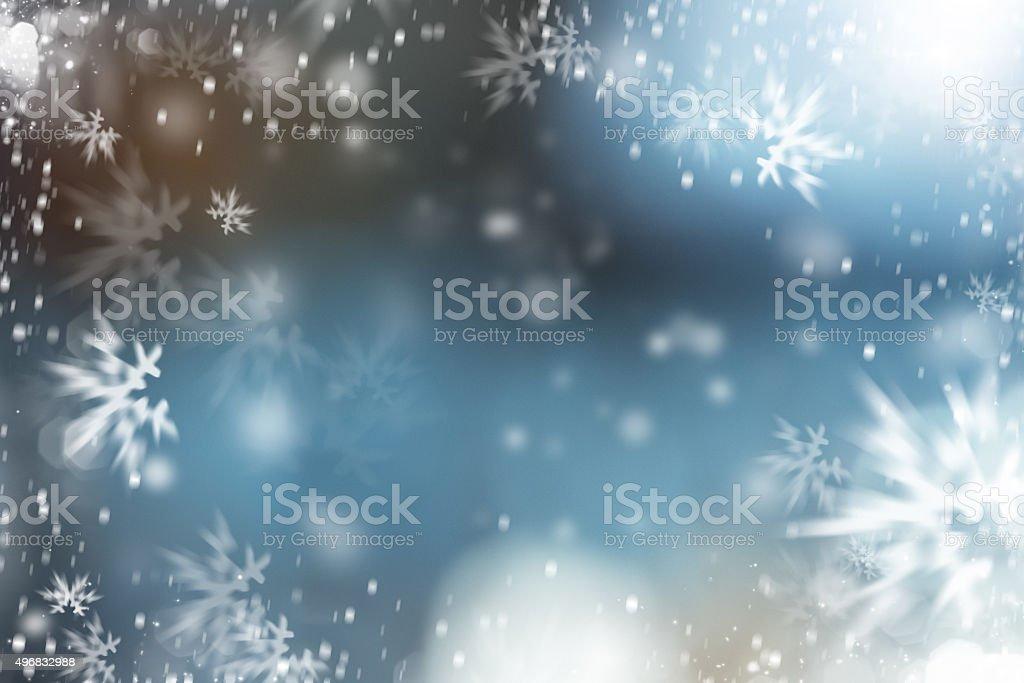 christmas ice vector art illustration