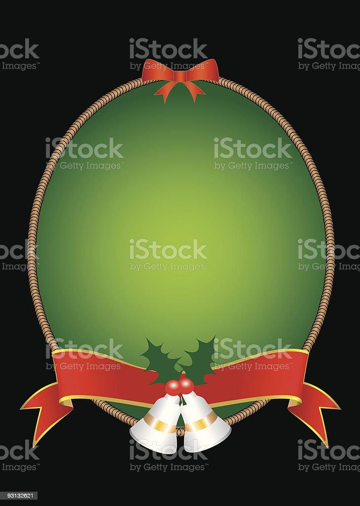 Christmas Label royalty-free stock vector art