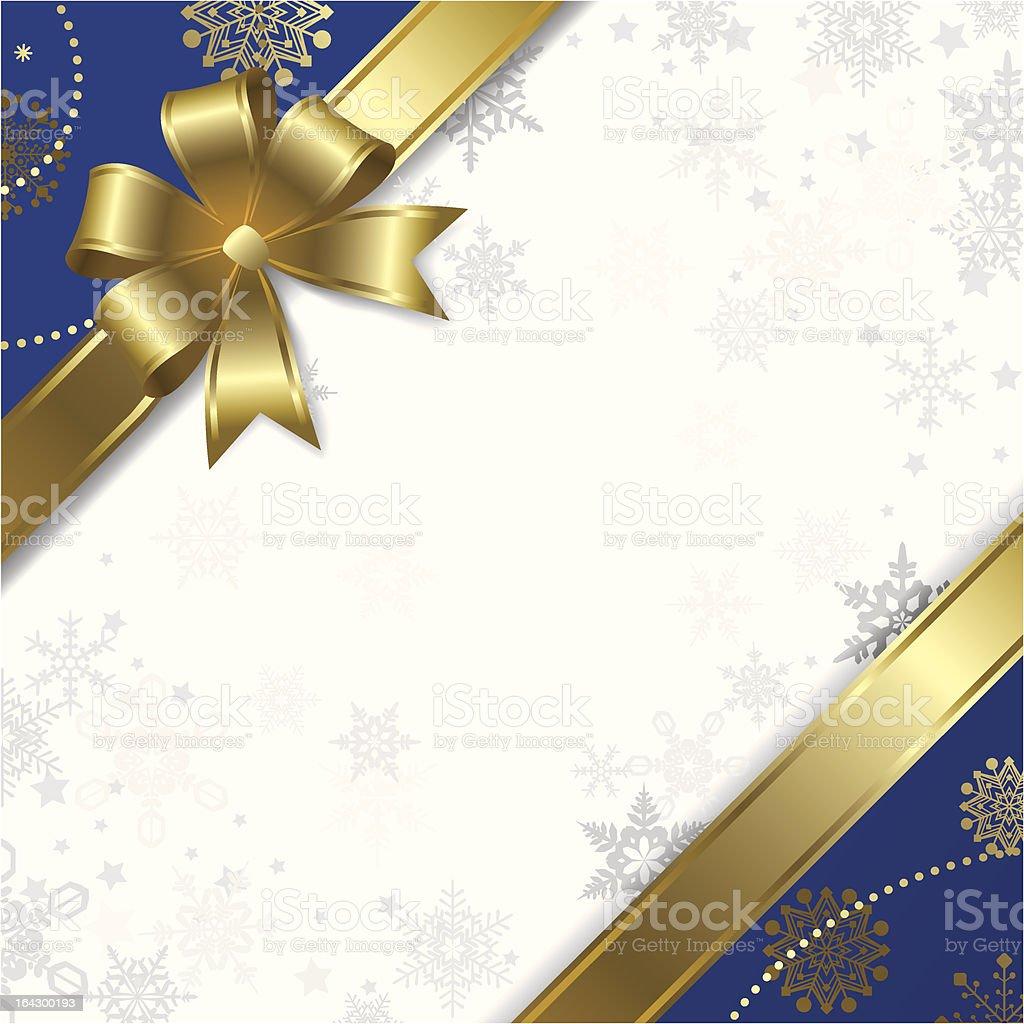 Christmas & New-Year's greeting card vector art illustration