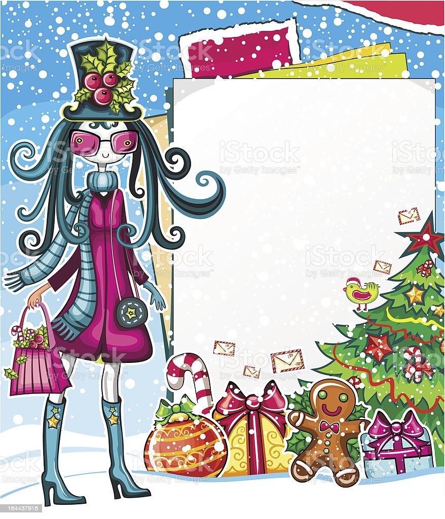 Christmas sale royalty-free stock vector art