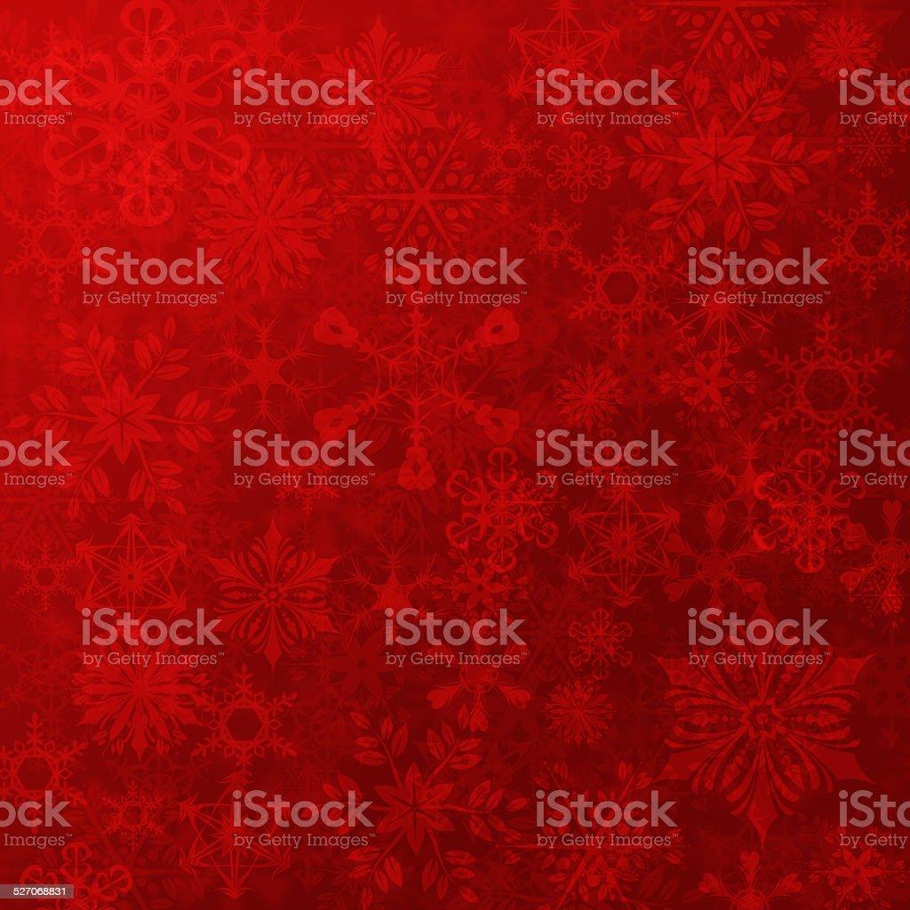 Christmas Snow Flakes Background vector art illustration