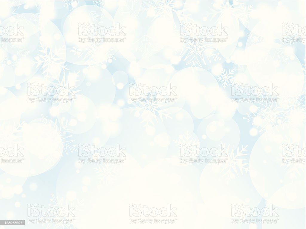 Christmas snowflake background royalty-free stock vector art