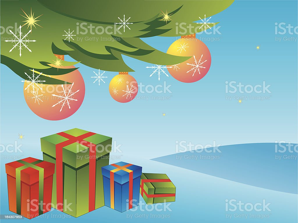 Christmas time royalty-free stock vector art