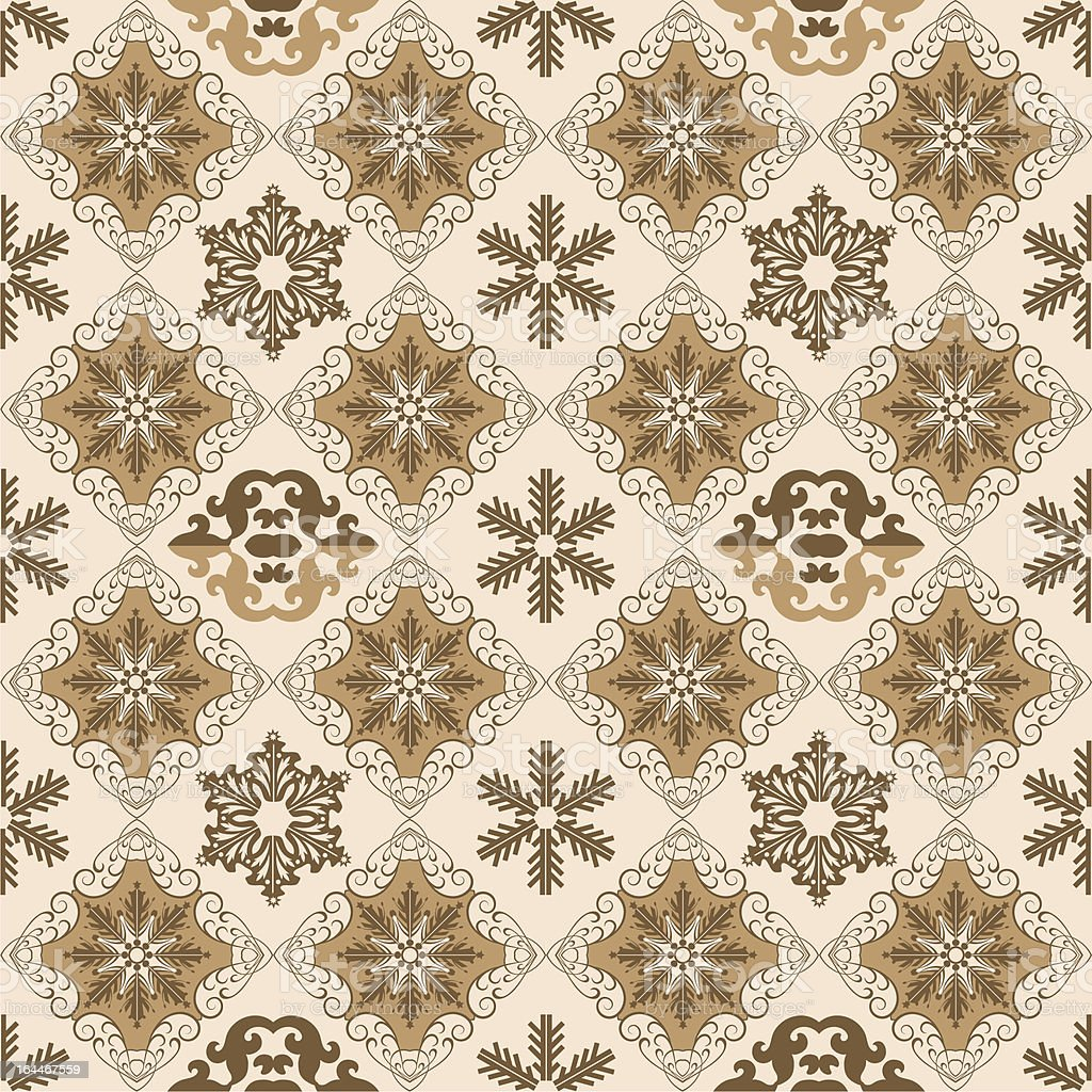 Christmas Wallpaper Seamless. Pattern. Retro royalty-free stock vector art