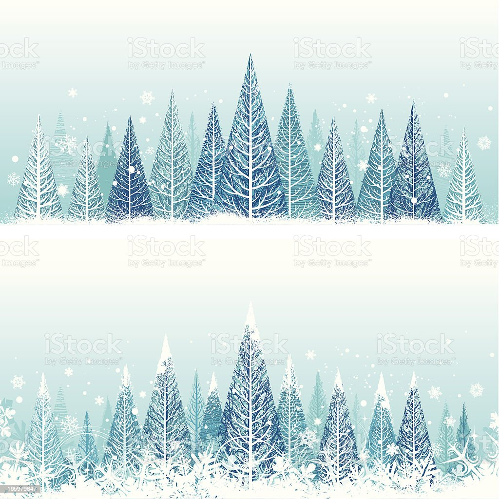 Christmas winter backgrounds royalty-free stock vector art
