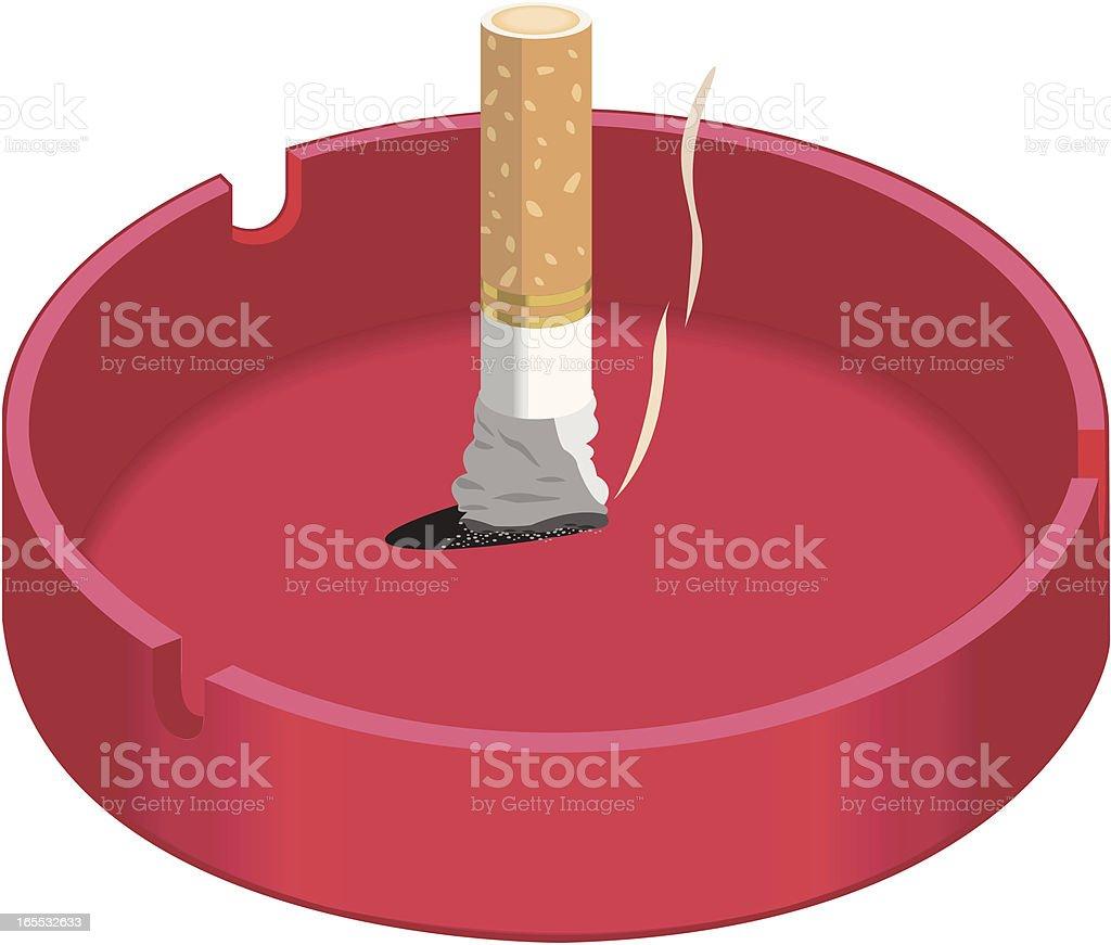 cigarette vector art illustration