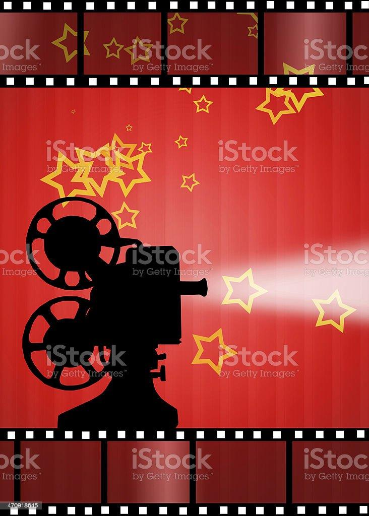 Cinema royalty-free stock vector art