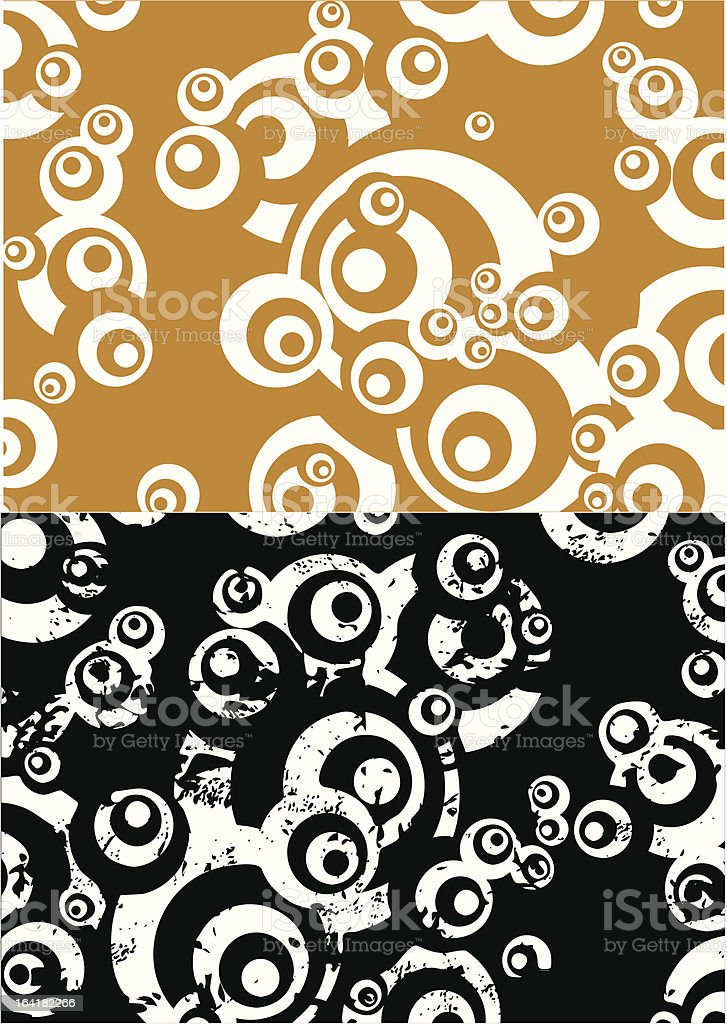Circles royalty-free stock vector art