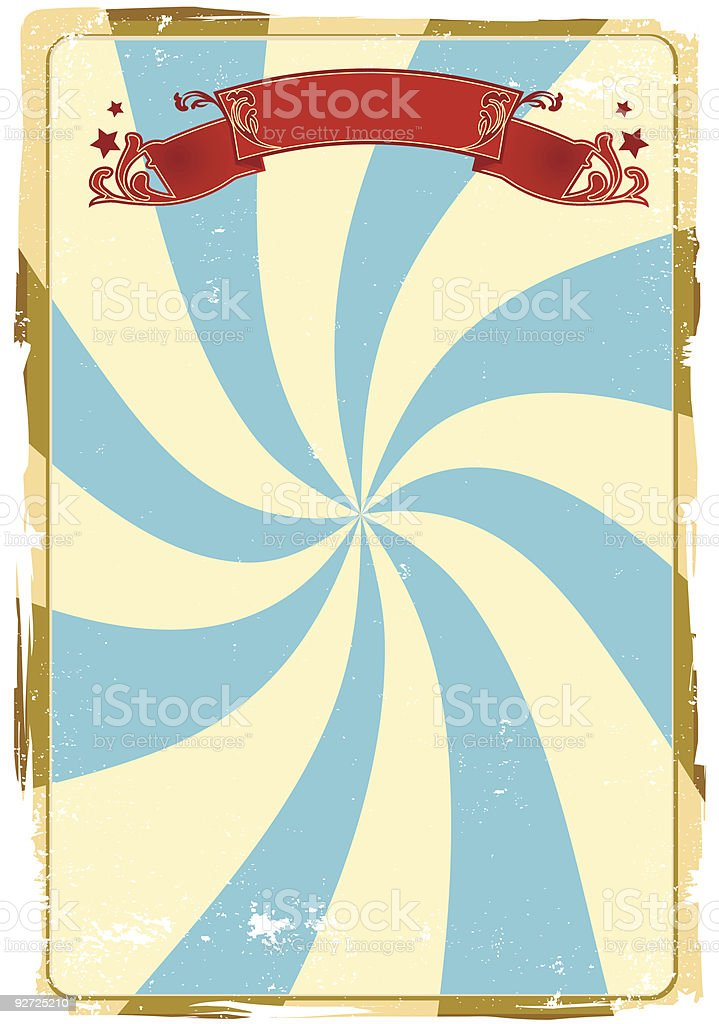 circus grunge background royalty-free stock vector art