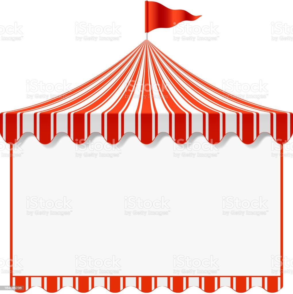 Circus vector art illustration